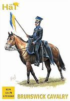 Hat Brunswick Cavalry Plastic Model Military Figure 1/72 Scale #8174