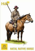 Hat Zulu Natal Native Horse Plastic Model Military Figure Set 1/72 Scale #8182