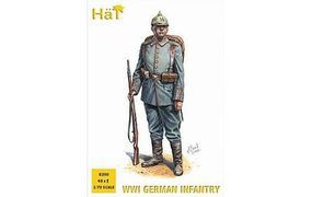 Hat WWI German Infantry Plastic Model Military Figure Set 1/72 Scale #8200