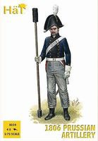 Hat 1806 Prussian Artillery Plastic Model Military Figure Set 1/72 Scale #8230