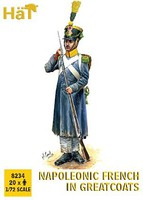 Hat 1/72 Napoleonic French in Greatcoats (20)