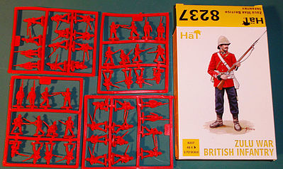 Hat Zulu War British Infantry Plastic Model Military Figure 1/72 Scale #8237