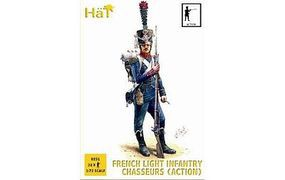 Hat French Chasseurs Action Plastic Model Military Figure Set 1/72 Scale #8251