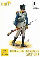 Hat Prussian Infantry Action Plastic Model Military Figure Set 1/72 Scale #8254