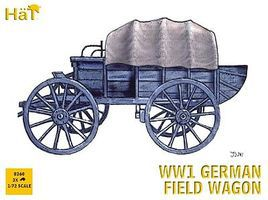 Hat WW-I German Field Wagon Plastic Model Military Vehicle Kit 1/72 Scale #8260