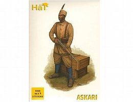 Hat WW-I Askari Plastic Model Military Figure 1/72 Scale #8268