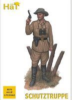 Hat WW-I Schutztruppe Plastic Model Military Figure 1/72 Scale #8270