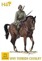 Hat WWI Turkish Calvary Plastic Model Military Figure Kit 1/72 Scale #8274