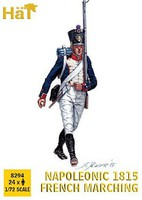 Hat 1/72 Napoleonic 1815 French Infantry Marching (24)