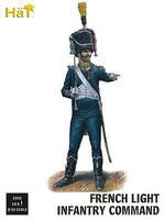 Hat French Light Infantry Command Plastic Model Military Figure Set 1/32 Scale #9305