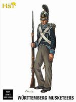 Hat Wurttemberg Musketeers Plastic Model Military Figure Set 1/32 Scale #9309