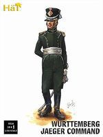 Hat Wurttemberg Jaeger Command Plastic Model Military Figure Set 1/32 Scale #9316