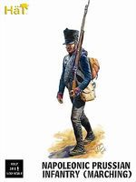Hat Prussian Infantry Marching Plastic Model Military Figure Set 1/32 Scale #9317