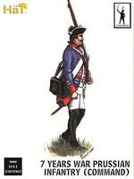 Hat 7YW Prussian Command Plastic Model Military Figure Set 1/32 Scale #9400