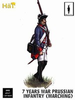 Hat 1/32 7 Years War Prussian Infantry Marching (18) (Re-Issue)