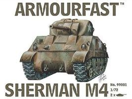 Hat Sherman Tank 2pak Plastic Model Military Vehicle 1/72 Scale #99001