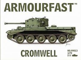 Hat Cromwell Tank Plastic Model Military Vehicle 1/72 Scale #99013