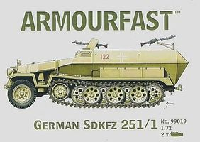 Hat Hanomag Plastic Model Military Vehicle 1/72 Scale #99019
