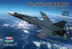 HobbyBoss SU-47 (S-37) Berkut Plastic Model Airplane Kit 1/72 Scale #80211