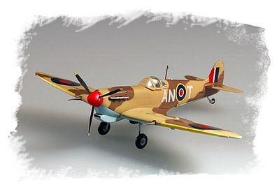 HobbyBoss Easy Build Spitfire MK VB/Trop Plastic Model Airplane Kit 1/72 Scale #80213