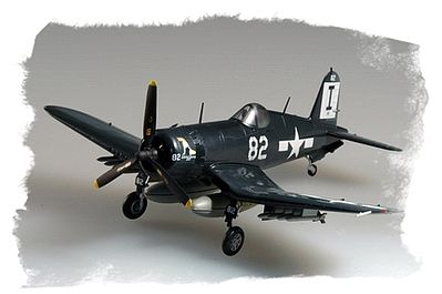 Hobby Boss Easy Build F4U-1 Corsair -- Plastic Model Airplane Kit -- 1/72 Scale -- #80217