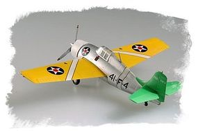 HobbyBoss Easy Build F4F-3 Wildcat Plastic Model Airplane Kit 1/72 Scale #80219