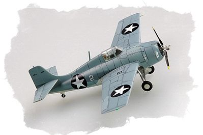 Hobby Boss Easy Build F4F-4 Wildcat -- Plastic Model Airplane Kit -- 1/72 Scale -- #80220
