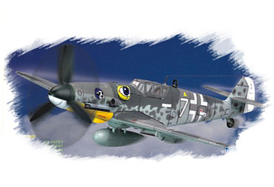 Hobby Boss Easy Build BF109G-6 Late -- Plastic Model Airplane Kit -- 1/72 Scale -- #80226