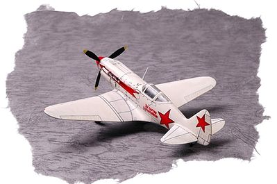 Hobby Boss Easy Build Soviet MiG-3 -- Plastic Model Airplane Kit -- 1/72 Scale -- #80229