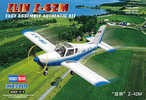 HobbyBoss Zlin Z-42M Plastic Model Airplane Kit 1/72 Scale #80231