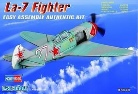 HobbyBoss Russian La-7 Fighter Plastic Model Aircraft Kit 1/72 Scale #80236