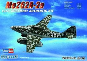 HobbyBoss EZ ME 262A-2A German Fighter Plastic Model Airplane Kit 1/72 Scale #80248