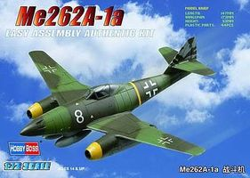 HobbyBoss EZ ME 262A-1A German Fighter Plastic Model Airplane Kit 1/72 Scale #80249