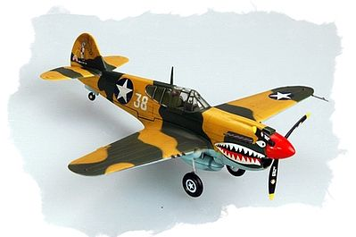 Hobby Boss P-40E Kittyhawk -- Plastic Model Airplane Kit -- 1/72 Scale -- #80250