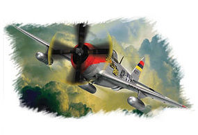 HobbyBoss P-47D Thunderbolt Plastic Model Airplane Kit 1/72 Scale #80257