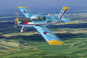 HobbyBoss Czech Zlin Z-142 Plastic Model Airplane Kit 1/72 Scale #80282