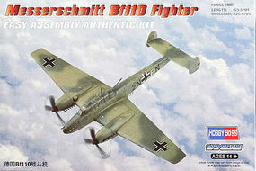 HobbyBoss BF-110 Messerschmitt Plastic Model Airplane 1/72 Scale #80292