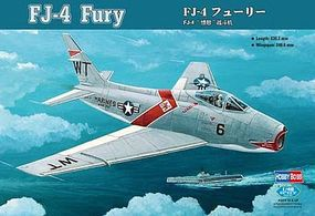 HobbyBoss FJ-4 Fury Plastic Model Airplane Kit 1/48 Scale #80312