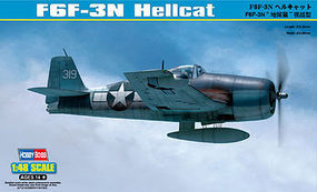 HobbyBoss F6F-3N Hellcat Plastic Model Airplane Kit 1/48 Scale #80340