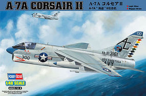 HobbyBoss A-7A Corsair II Plastic Model Airplane Kit 1/48 Scale #80342