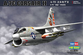 HobbyBoss A-7E Corsair II Plastic Model Airplane Kit 1/48 Scale #80345
