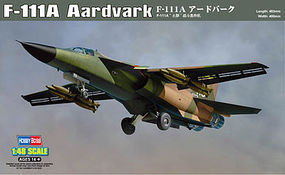HobbyBoss F-111A Aardvark Plastic Model Airplane Kit 1/48 Scale #80348
