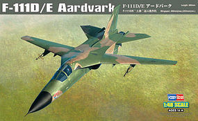 HobbyBoss F-11D/E Aardvark Plastic Model Airplane Kit 1/48 Scale #80350