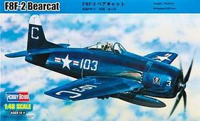 HobbyBoss F8F-2 Bearcat Plastic Model Airplane Kit 1/48 Scale #80358