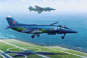 HobbyBoss YAK-38/YAK-38M Forger A Plastic Model Airplane Kit 1/48 Scale #80362