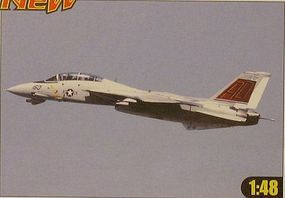 HobbyBoss F-14D Super Tomcat Plastic Model Airplane Kit 1/48 Scale #80368