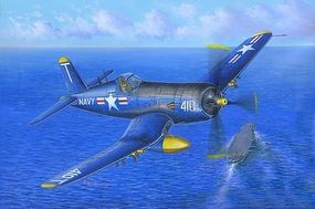 HobbyBoss F4U-5 Corsair Plastic Model Airplane Kit 1/48 Scale #80389