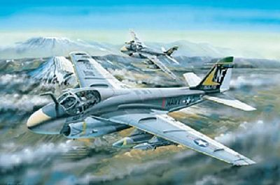 Hobby Boss A-6A Intruder -- Plastic Model Airplane Kit -- 1/48 Scale -- #81708