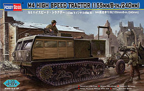 HobbyBoss M4 High Speed Tractor Plastic Model Military Vehicle Kit 1/35 Scale #82408