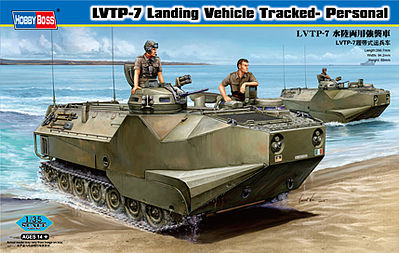 Hobby Boss 1/35 LVTP-7 Landing Vehicle